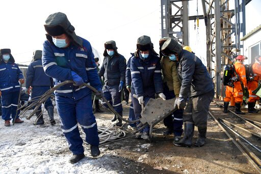 12 workers trapped week ago in China mine blast are alive