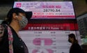 Asia shares mostly lower on selling of tech stocks