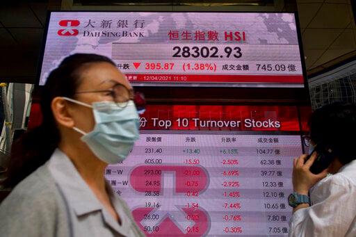 Asian shares decline on vaccine, virus worries