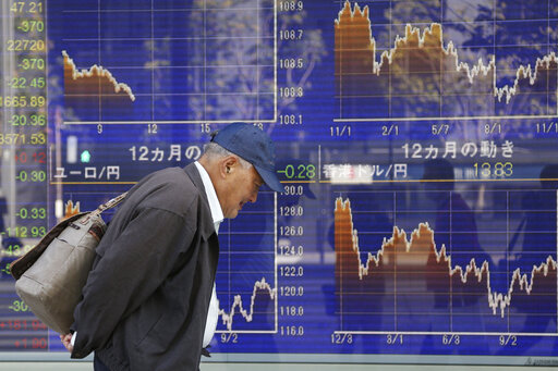 Asian shares mostly higher despite US-China trade anxiety