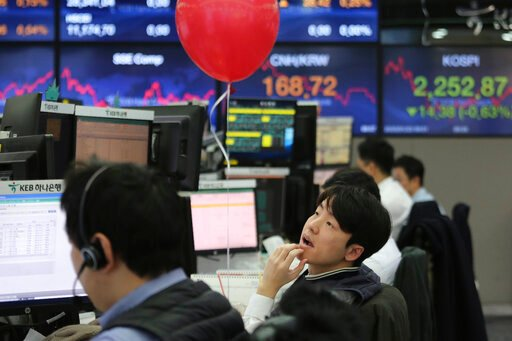 Asian shares reverse gains on growing impact of China virus