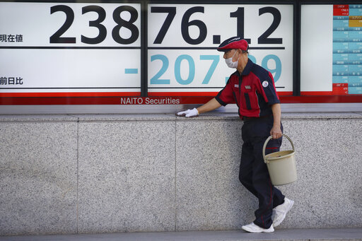 Asian stocks tumble on growing concern about China virus