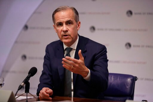 Bank of England's Carney hints at stimulus in no-deal Brexit