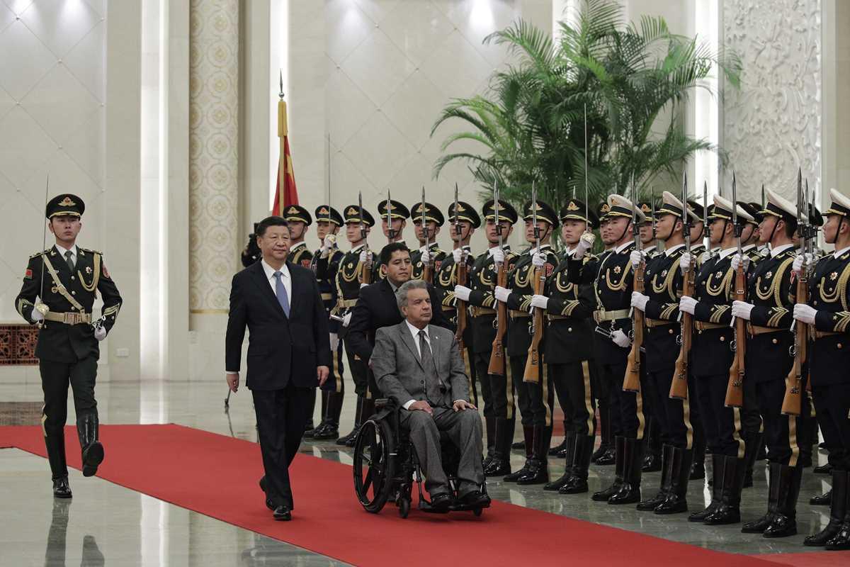Lenin Moreno, Xi Jinping