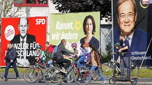 Closely fought German election ushers in post-Merkel era