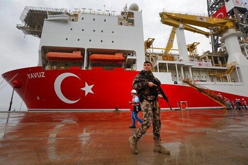 EU slaps sanctions on Turkey over gas drilling off Cyprus