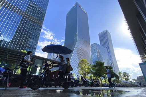 Fears of global shockwaves from Chinese builder's debts ease