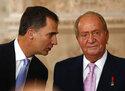 King Juan Carlos, Prince Felipe