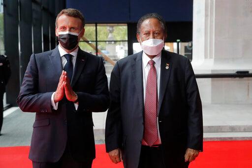 France holds global talks to offer debt relief for Sudan
