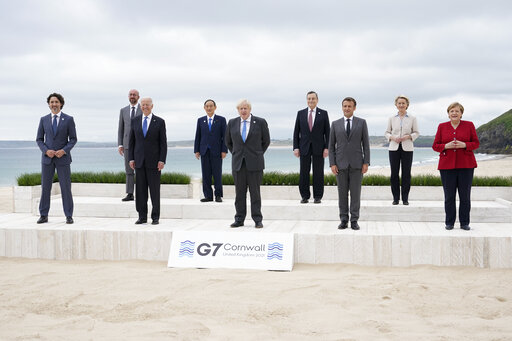 G-7 leaders agree to challenge China on economic practices
