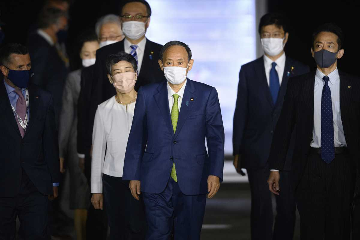 Foreign Leaders Arrive For G7 Summit