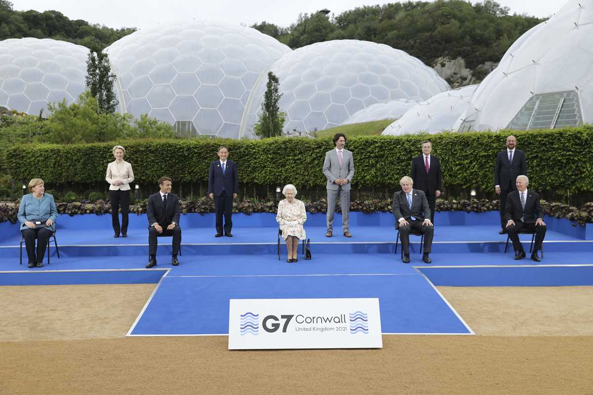 g 7 pledge to share but jostle for ground in the sandbox 2021 06 11 11 primaryphoto
