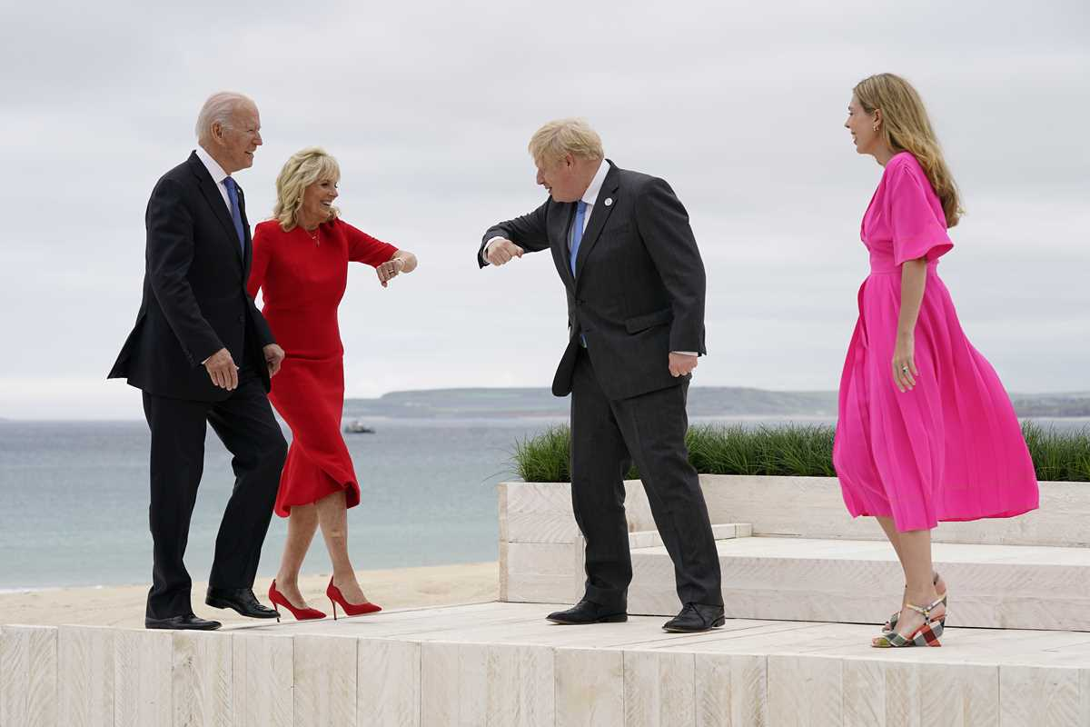 g 7 pledge to share but jostle for ground in the sandbox 2021 06 11 4 primaryphoto