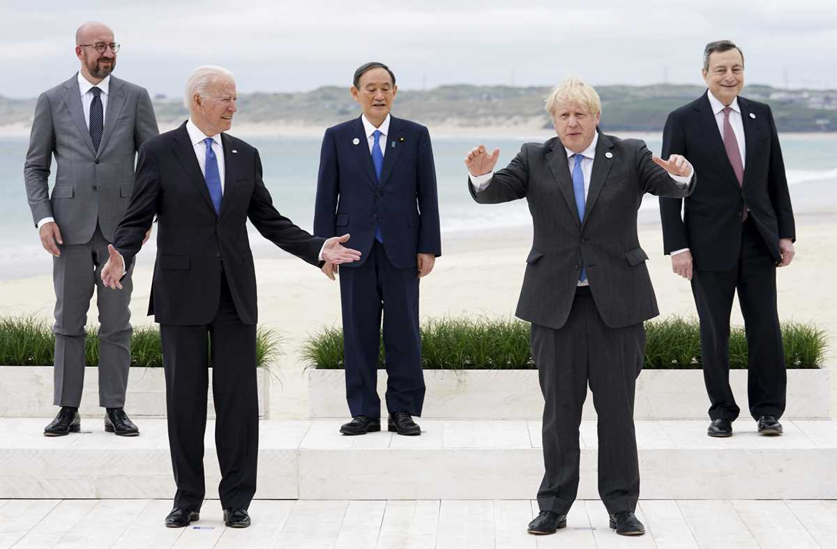 g 7 pledge to share but jostle for ground in the sandbox 2021 06 11 9 primaryphoto