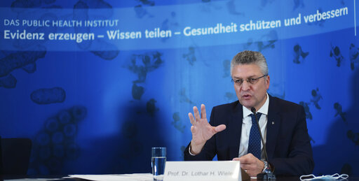 German disease control center urges vigilance as virus rises