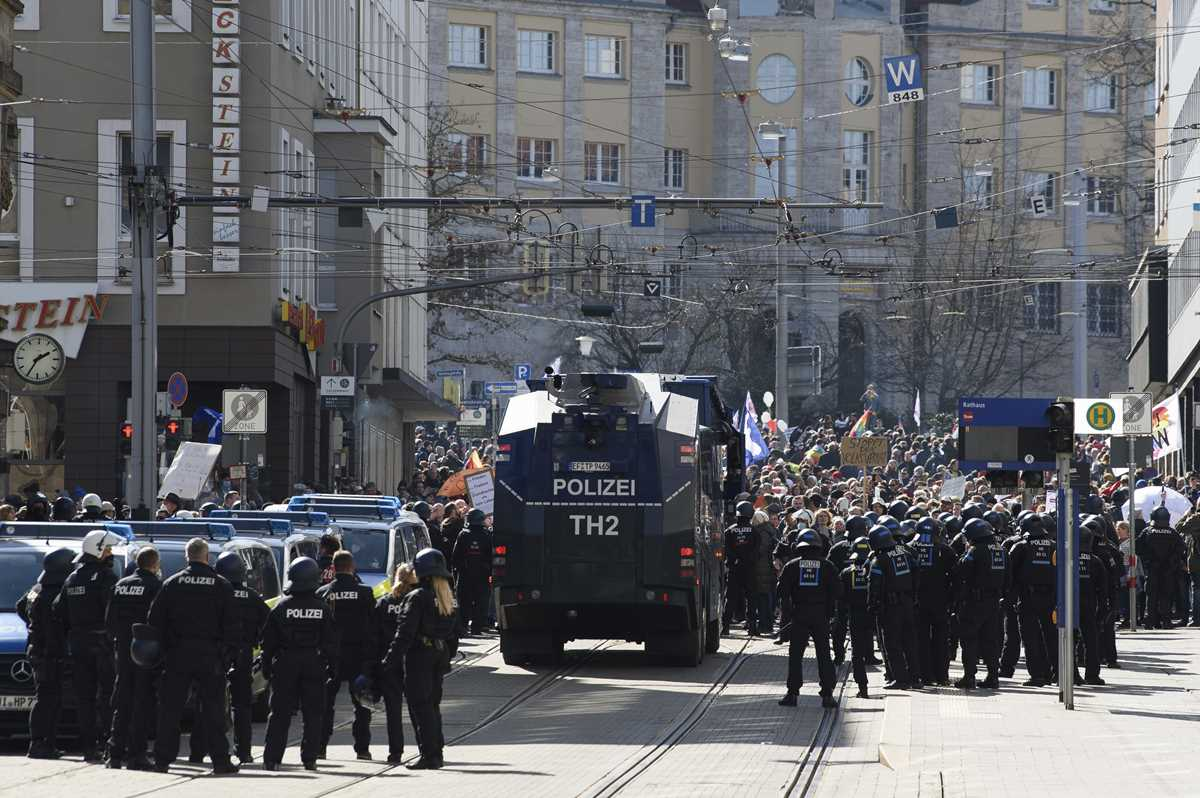 german government welcomes probe into virus protest policing 2021 03 22 8 primaryphoto