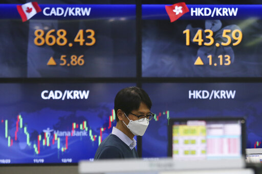 Global shares drop after US stocks' worst day since October