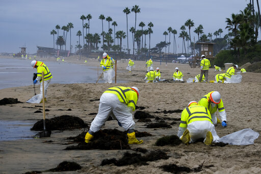 Harbor patrol searched, couldn't find California oil spill