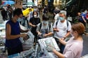 Hong Kong's last pro-democracy paper sells out final edition