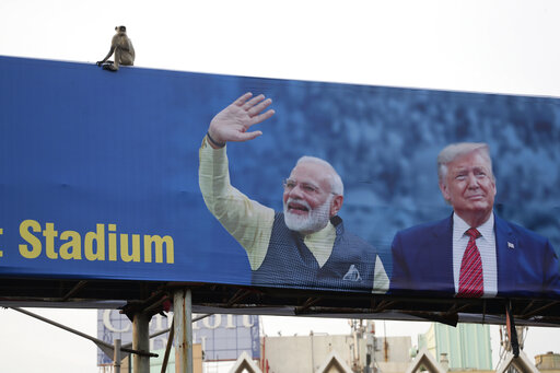 In Trump's India rally, Modi bets on bolstering his image