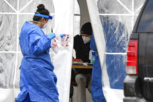 Latest: Contract health workers arrive in Montana to help