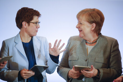Merkel says climate change, digitalization top challenges