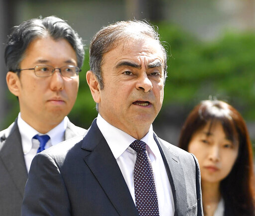 Nissan paying $15M, Ghosn $1M to settle SEC fraud charges