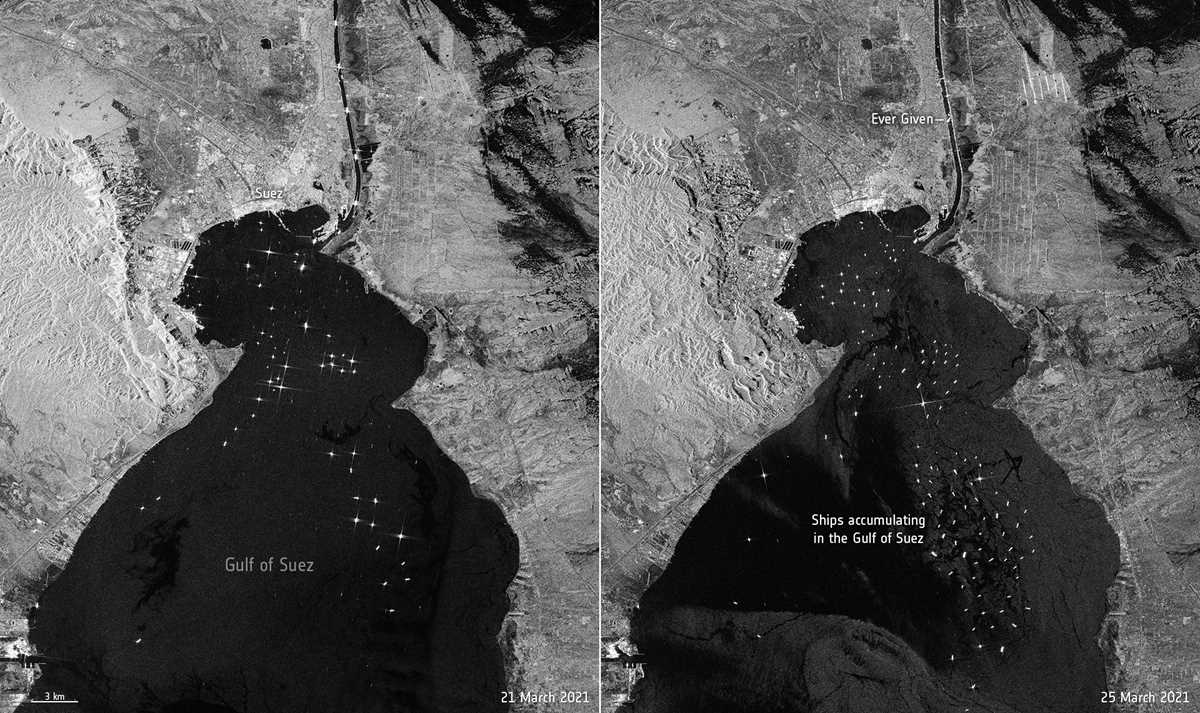 no timeline given for extracting wedged ship from suez canal 2021 03 27 8 primaryphoto