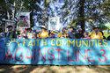 Oil pipeline foes protest Enbridge's Line 3 in Minnesota