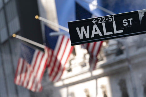 Stocks fall on Wall Street, giving up the week's gains