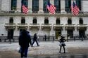 Stocks give up an early gain, turn lower; bond yields slip