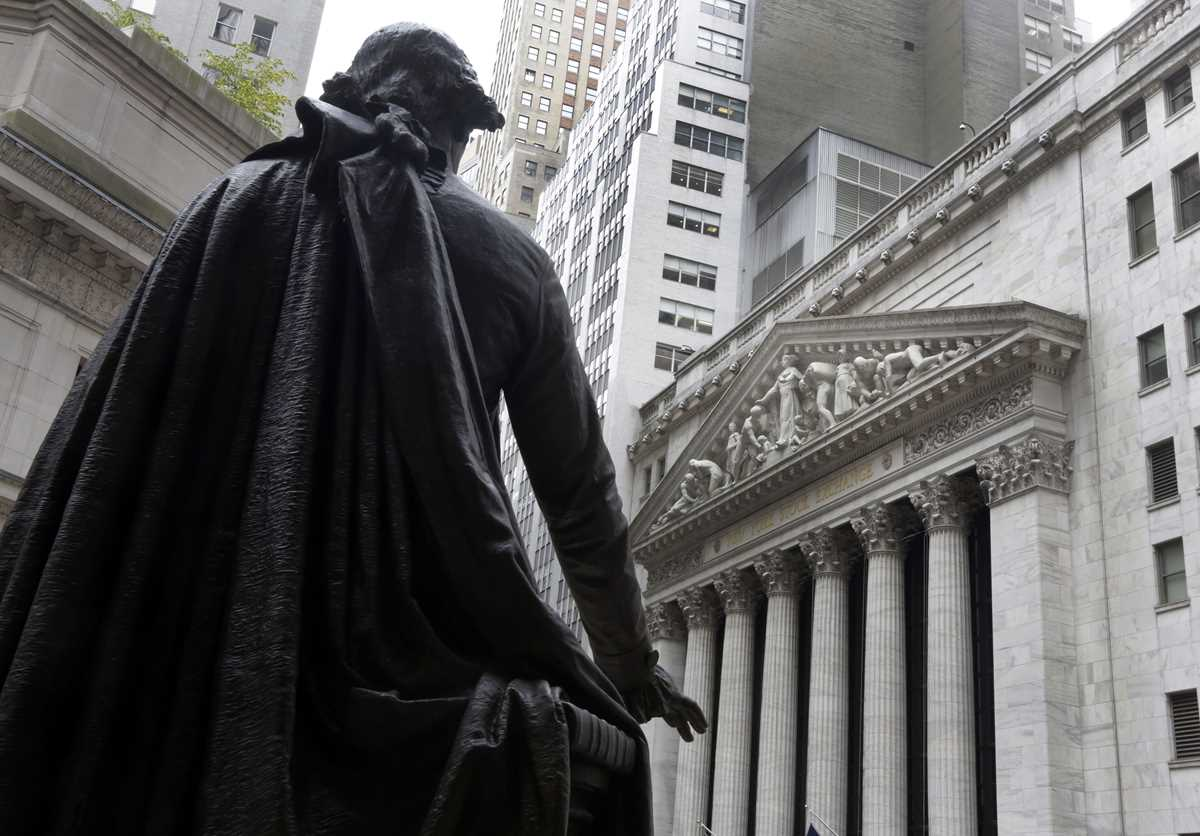 George Washington statue, New York Stock Exchange
