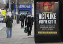 The Latest: British health officials want lower alert level