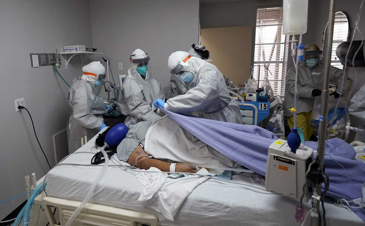 COVID patient death