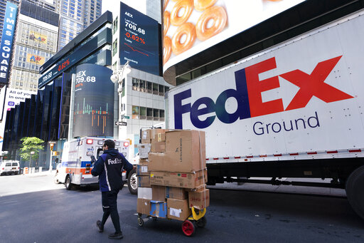 Tight job market is causing costs to rise at FedEx