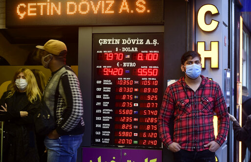 Turkish lira drops to record low over US sanction threat