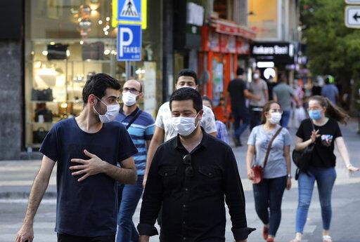 Turkish lira keeps sliding, hits historic lows amid pandemic