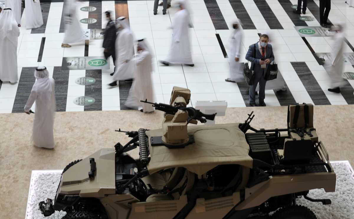 uae weapons show draws major deals traders amid pandemic 2021 02 21 11 primaryphoto