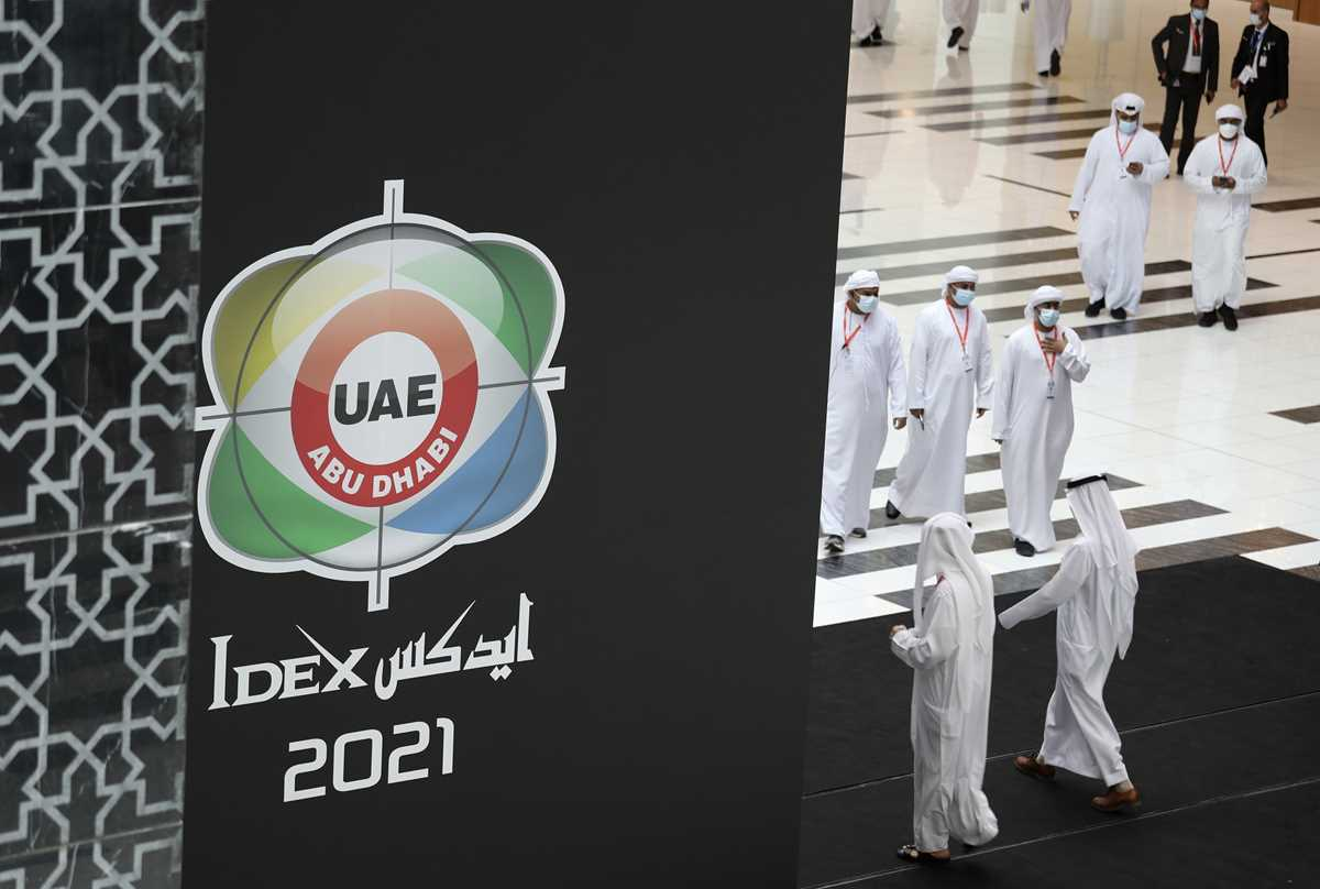 uae weapons show draws major deals traders amid pandemic 2021 02 21 4 primaryphoto