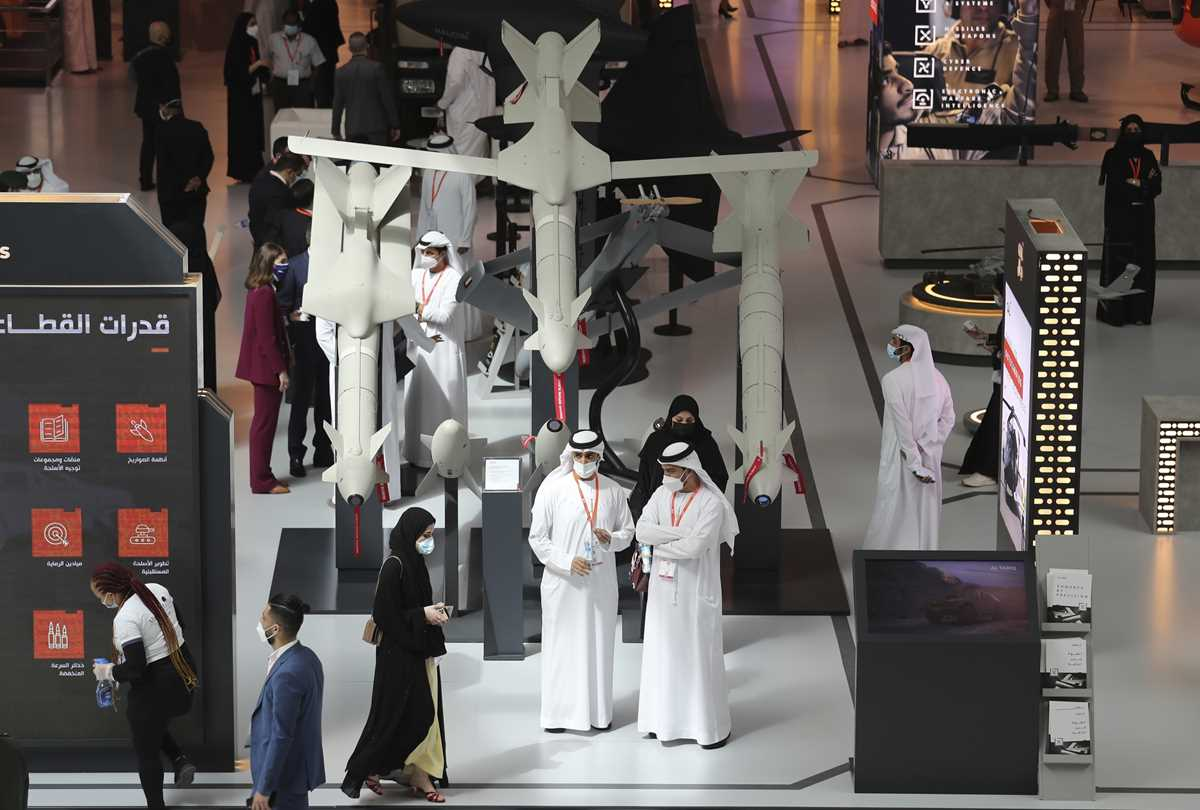 uae weapons show draws major deals traders amid pandemic 2021 02 21 8 primaryphoto