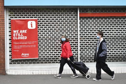 UK economy in recession after 20.4% second quarter slump