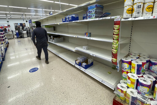 UK energy crisis: Govt in CO2 deal to avert food shortages