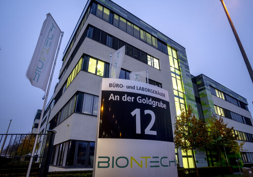 Vaccine 1st puts spotlight on German pharma company BioNTech