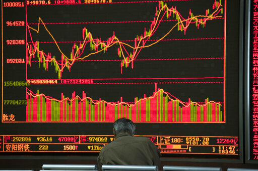 World shares advance as investors await US-China trade moves