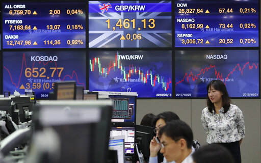 World shares mixed after upbeat talk on China-US trade