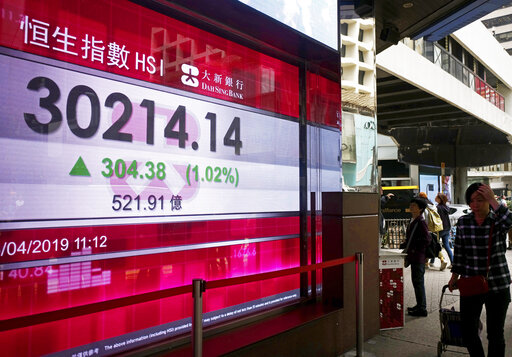 World stocks mixed as US, China move toward deal