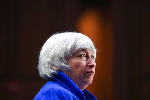 Yellen says infrastructure overhaul will US boost economy