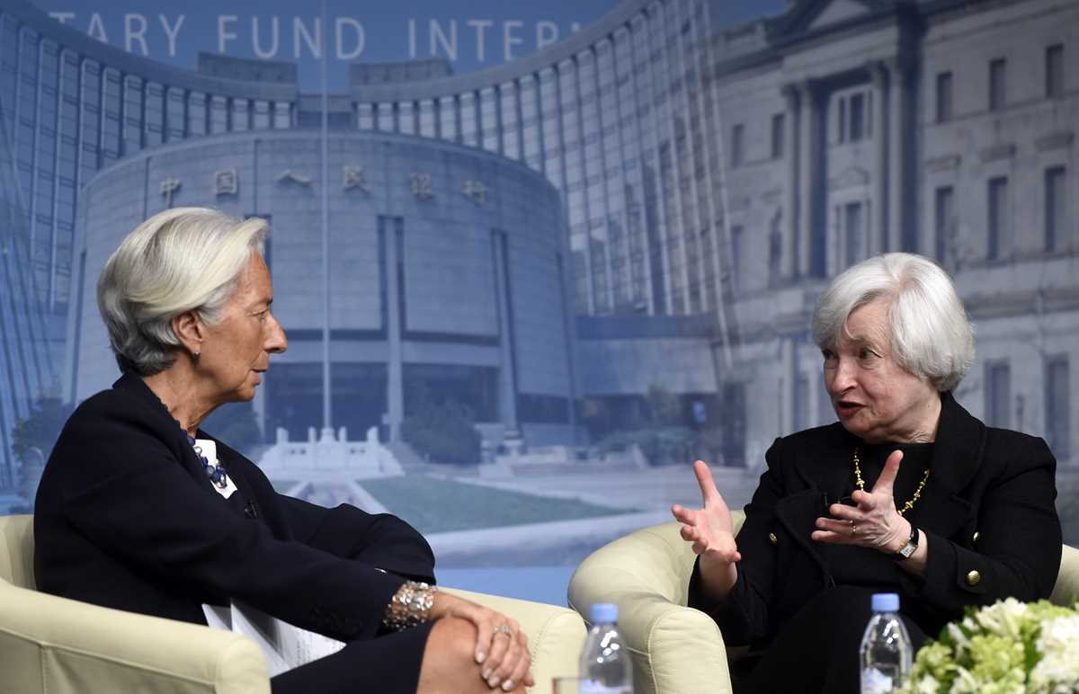 Jane Yellen, Christine Lagarde
