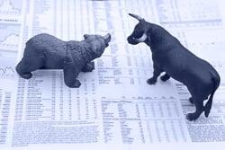 Financial markets news icon
