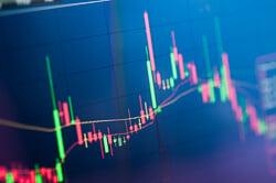 Stock markets news icon